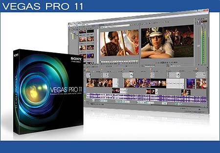 Sony Vegas Pro 11 build 370/371 x86/64bit (2011)