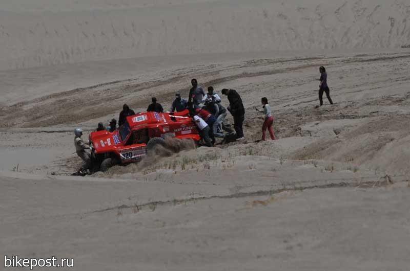 Ралли Дакар 2012 - Этап 5. Фото и видео