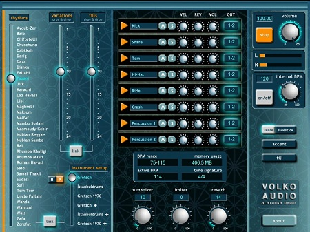 Volko Audio Volko Alaturka Drum v1.2.4 WiN/MAC-UNION