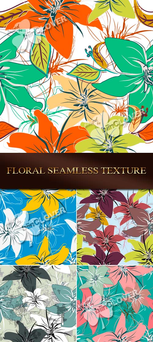Floral seamless texture 0079