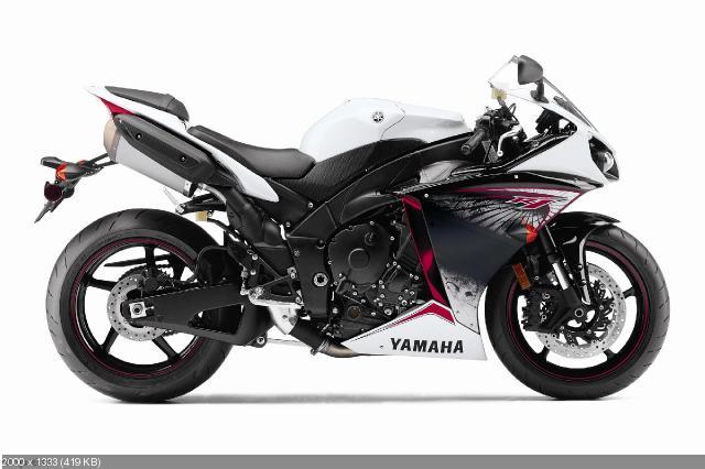 Фотографии спортбайка Yamaha YZF-R1 2012