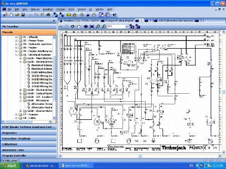 John Deere Service ADVISOR Version [ v.2.8.306.001, Программа Service ADVISOR + 3 DVD диска, Multi ]