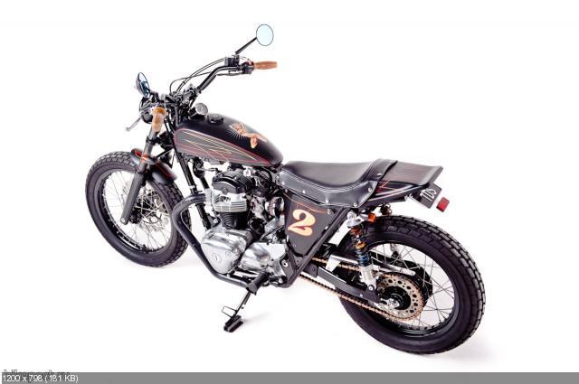 Стрит-трекер Kawasaki W650