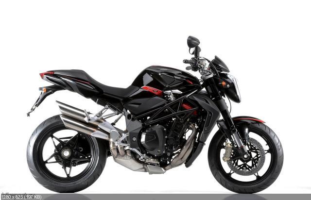Фотографии нового мотоцикла MV Agusta Brutale 1090R 2012