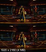 Трон: Наследие в 3Д | Tron: Legacy 3D Вертикальная