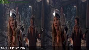 Путешествие к Центру Земли в 3Д / Journey to the Center of the Earth 3D  Горизонтальная анаморфная