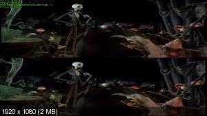 Кошмар перед Рождеством в 3Д / The Nightmare Before Christmas 3D Вертикальная анаморфная