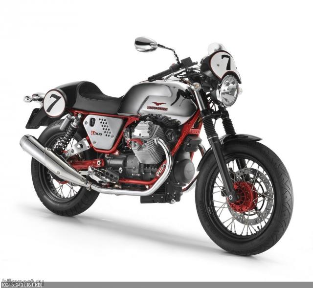 Мотоцикл Moto Guzzi V7 Cafe Racer Limited Edition 2011