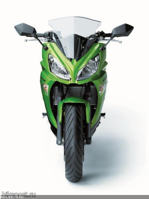 Обновленный мотоцикл Kawasaki ER-6f 2012