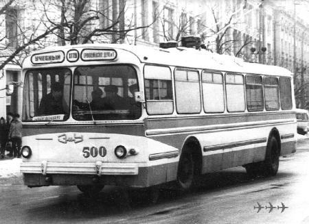 Фотографии троллейбусов разного времени (112 шт.)