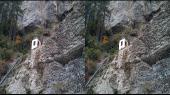 Прогулка по южному берегу  Крыма в 3-D Горизонтальная анаморфная