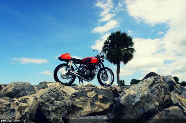 Мотоцикл Honda CB550 Super Sport 1976 от Steel Bent Customs