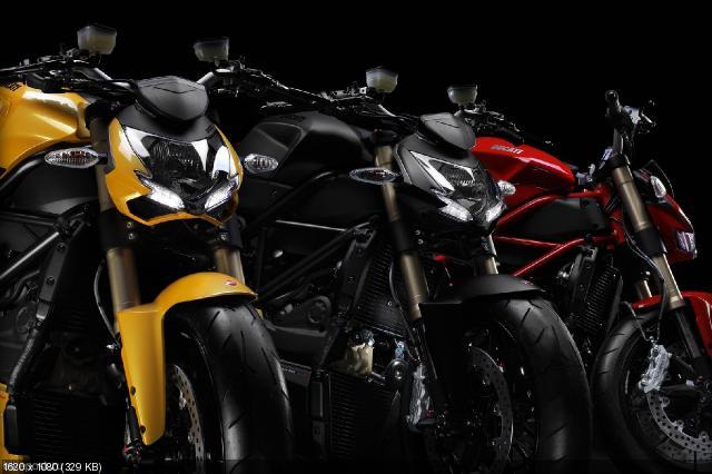 Обзор мотоцикла Ducati Streetfighter 848