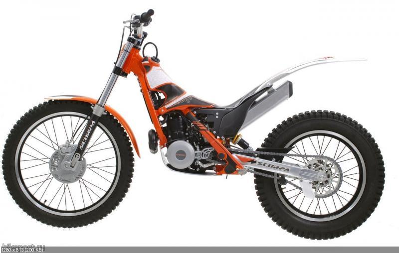 Триальный мотоцикл Scorpa SR 280 R 2012