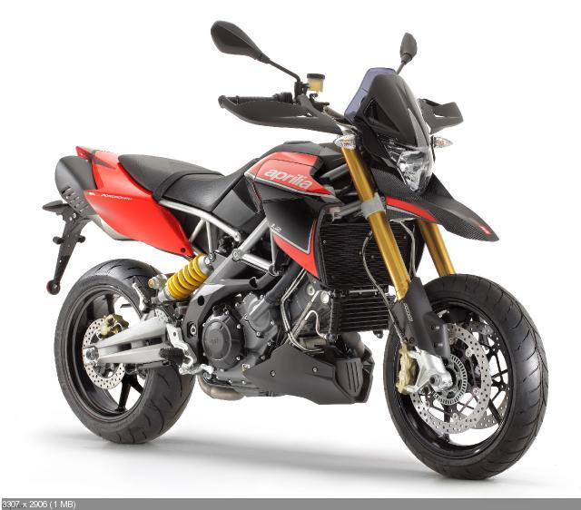 Обновленные мотоциклы Aprilia Dorsoduro 1200 и Shiver 750 (2012)