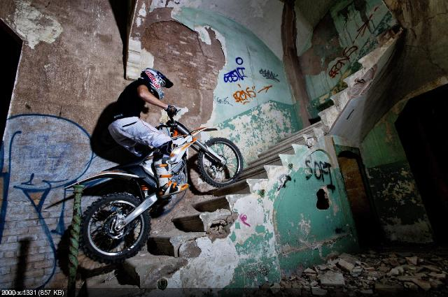 Электрокросс KTM Freeride E 2012