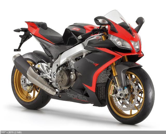 Обновленный мотоцикл  Aprilia RSV4 Factory APRC 2012