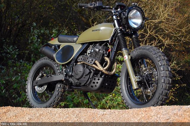 Мотоцикл Honda NX650 Dominator Project No.4