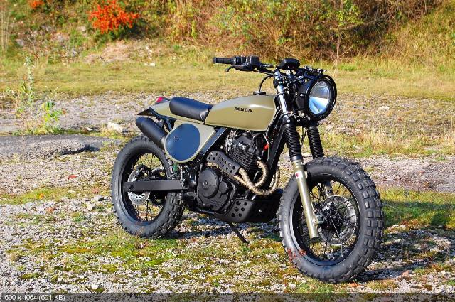 Мотоцикл Honda NX650 Dominator Project No.4