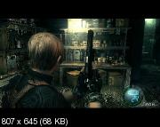 Resident Evil 4 HD: The Darkness World / Обитель зла 4 (2011/Rus) RePack by MAJ3R