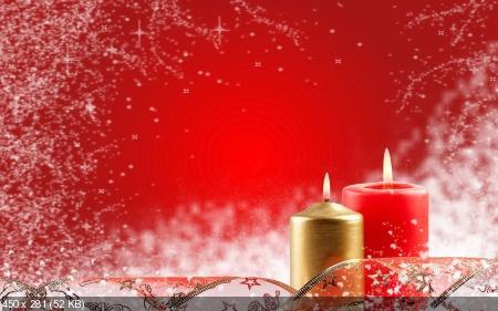 Обои к Рождеству и Новому году. Часть #9