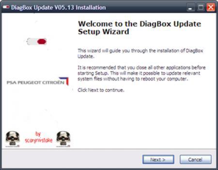 DiagBox [ v.6.01 и обновления до 6.06, Многоязычный, 2011 ]