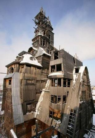 Необычные дома и постройки ( фото)