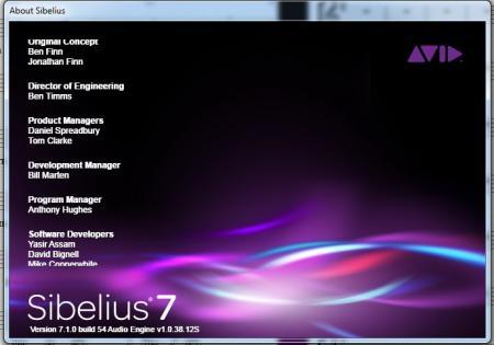 Avid - Sibelius [ v.7.1.0 54, x86 + x64, 2011/ 19.12, ENG ]
