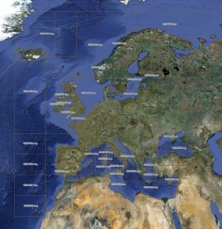 Рекреационная карта Европы [ v.3.01, IMG + MapSource (Garmin Recreational Map of Europe v3.01) ]