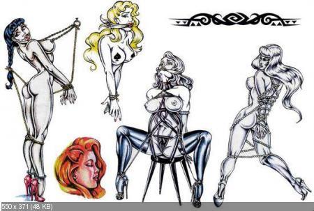 Коллекция эскизов рисунков популярных татуировок