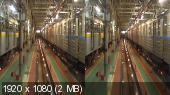 Московская подземка в 3D Горизонтальная анаморфная