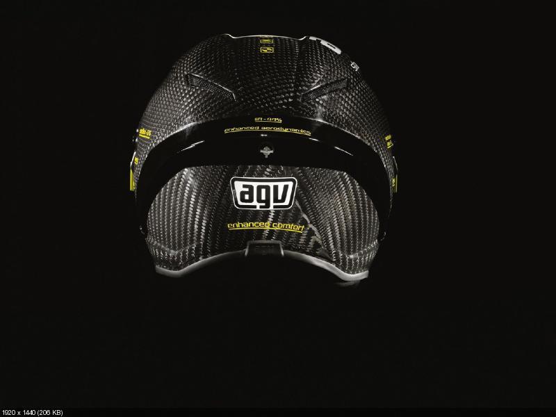 AGV PistaGP - новое поколение мотошлемов