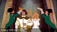 Принцесса лебедь / The Swan Princess (1994) DVDRip (x264)